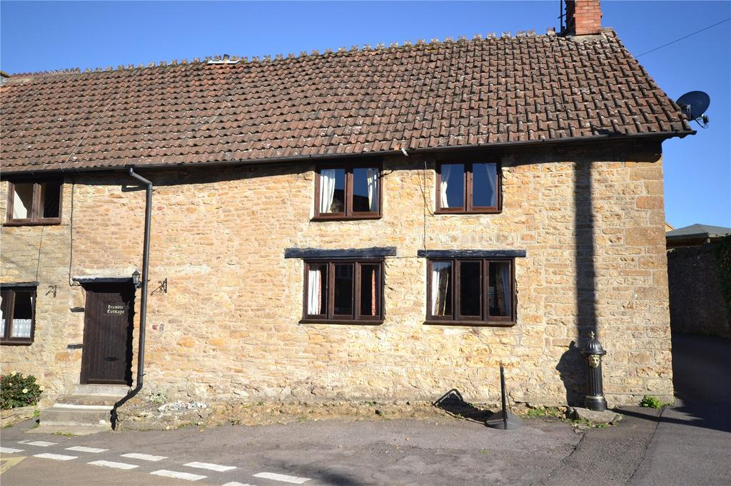2 Bedrooms End Of Terrace House for sale in North Street, Haselbury Plucknett, Crewkerne, Somerset