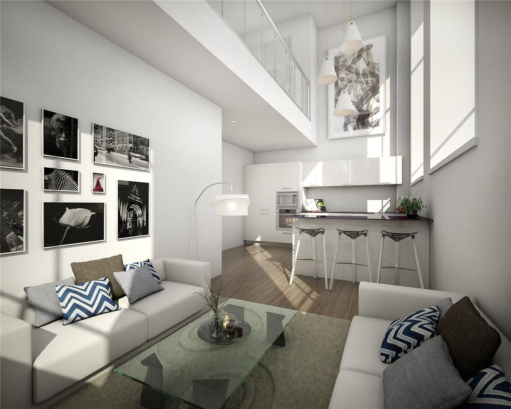 2 Bedrooms Flat for sale in Apartment 18 - The Atrium, Glasgow, G11