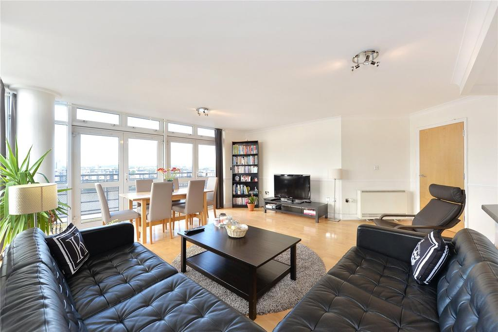 2 Bedrooms Flat for sale in Langbourne Place, London