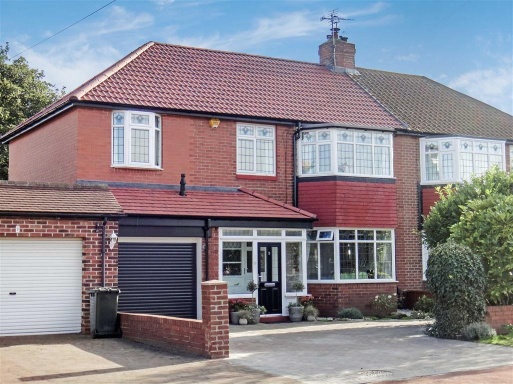 4 Bedrooms Semi Detached House for sale in Hartburn Road, North Shields