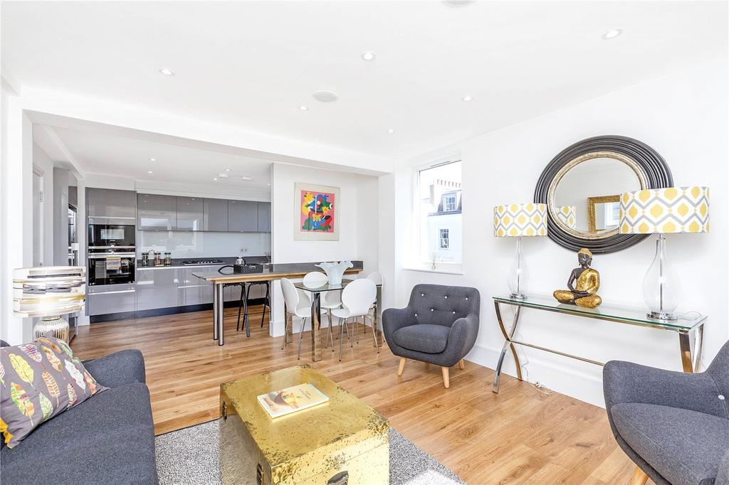 2 Bedrooms Penthouse Flat for sale in Sussex Street, London, SW1V