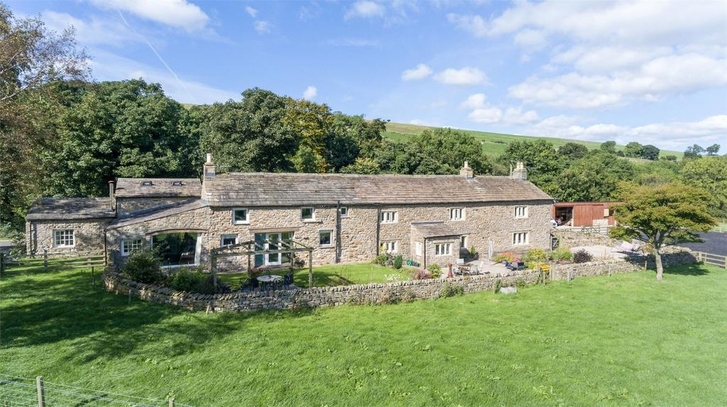 5 Bedrooms Detached House for sale in Swinacote Farm, Thoralby, Leyburn, North Yorkshire