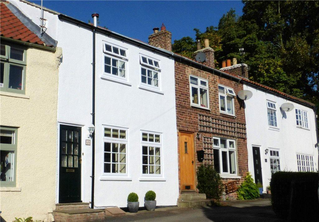 2 Bedrooms Terraced House for sale in North End, Hutton Rudby, North Yorkshire