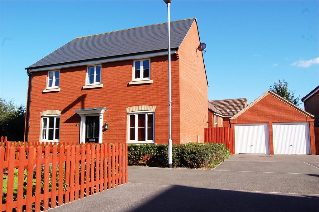 4 Bedrooms Detached House for sale in Bugle Way, NORTH PETHERTON, Bridgwater, Somerset, TA5