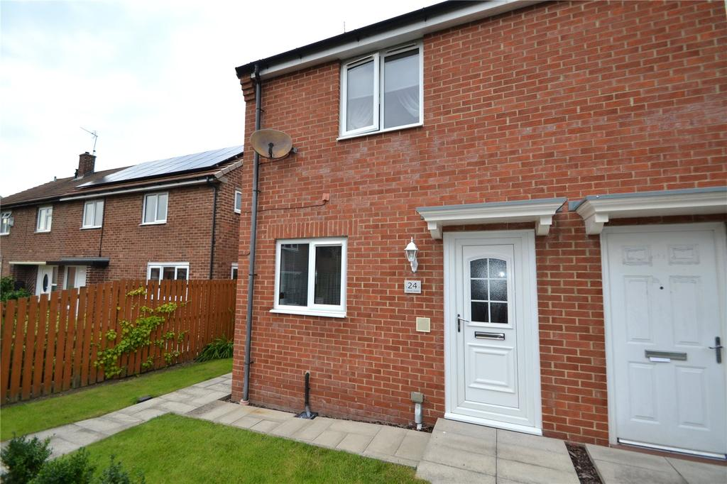 2 Bedrooms Semi Detached House for sale in Jarvis Road, Peterlee, Co.Durham, SR8