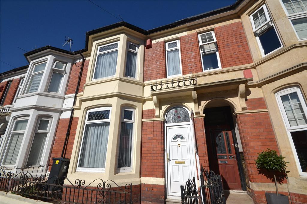 4 Bedrooms Terraced House for sale in Balaclava Road, Penylan, Cardiff, CF23
