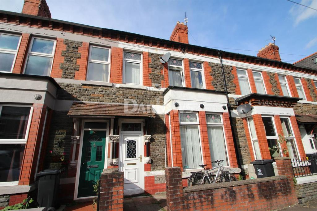 3 Bedrooms Terraced House for sale in Alfred Street, Roath, Cardiff
