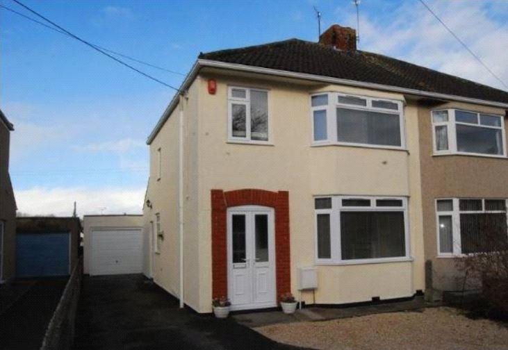 3 Bedrooms Semi Detached House for sale in New Road, Stoke Gifford, Bristol, BS34