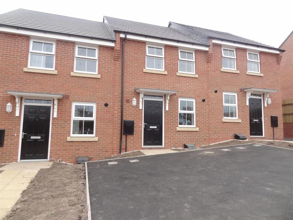 2 Bedrooms Terraced House for sale in Badger Crescent, Tarporley Road, Whitchurch