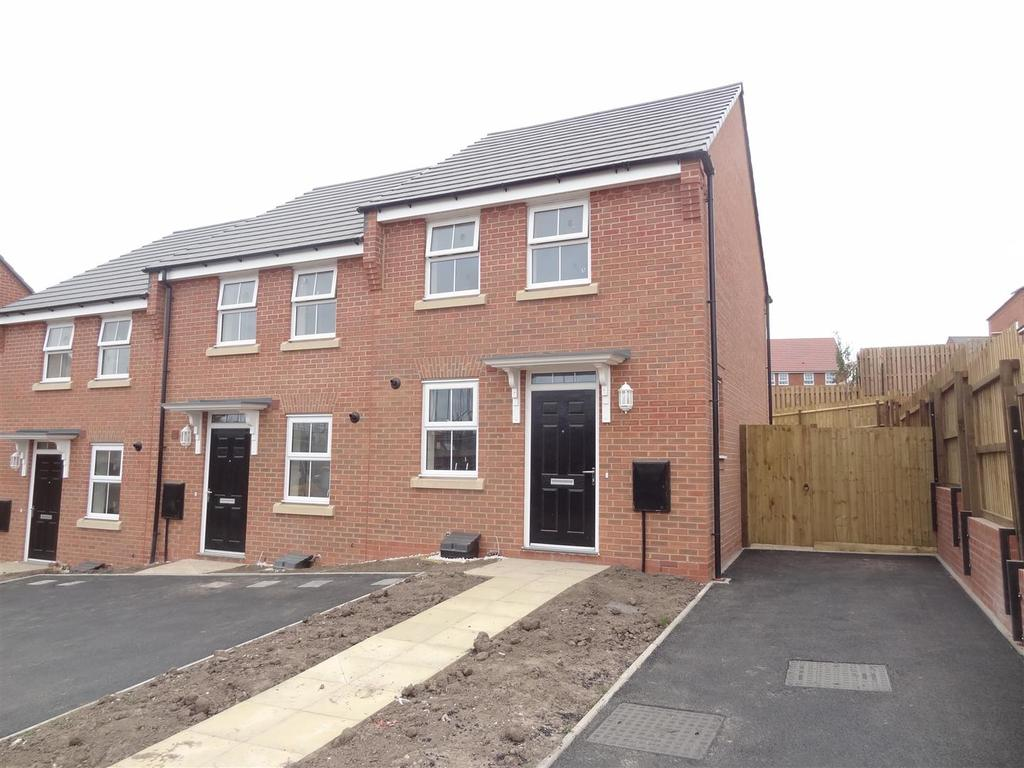 2 Bedrooms End Of Terrace House for sale in Badger Crescent, Tarporley Road, Whitchurch