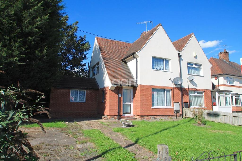 2 Bedrooms Semi Detached House for sale in Hucknall Lane, Bulwell, Nottingham