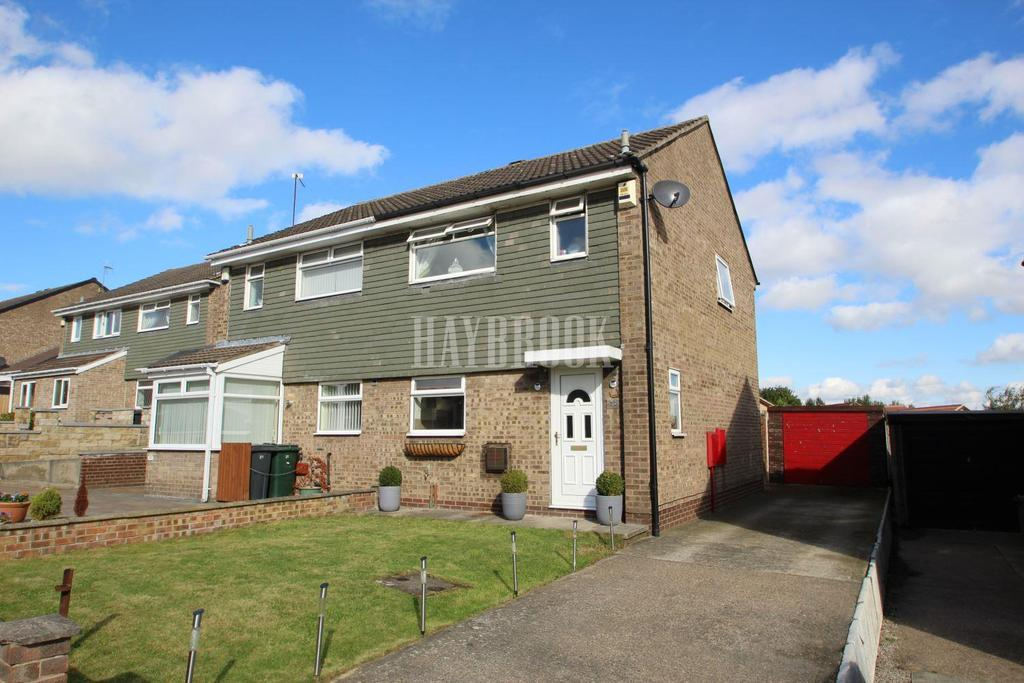 3 Bedrooms Semi Detached House for sale in Linnet Mount, Thorpe Hesley, S61