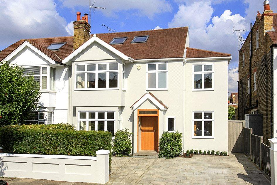 6 Bedrooms Semi Detached House for sale in Nassau Road, London, SW13