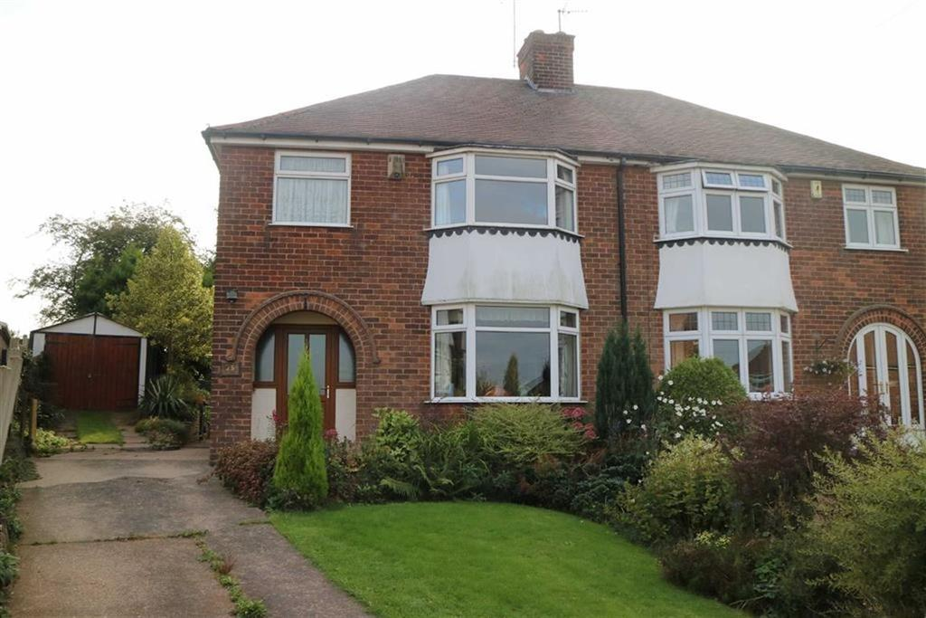 3 Bedrooms Semi Detached House for sale in Leabrooks Avenue, Sutton In Ashfield, Notts, NG17