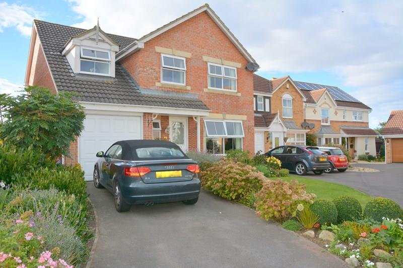 5 Bedrooms Detached House for sale in Manor Park, Pawlett