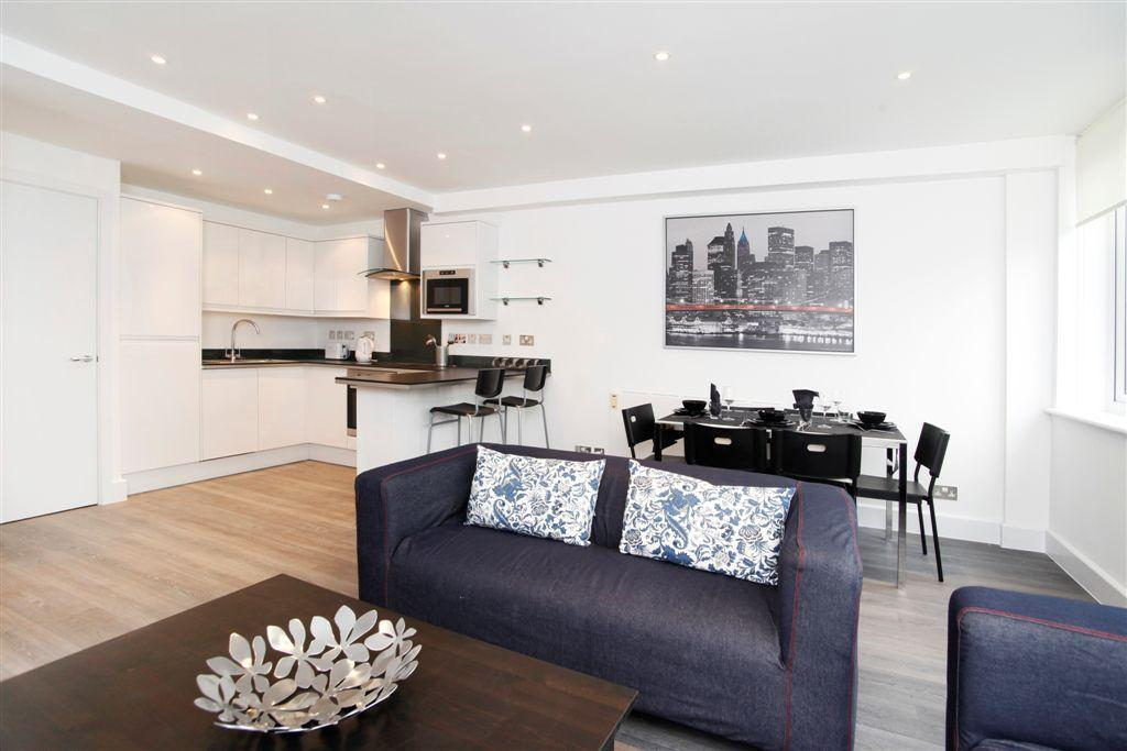 2 Bedrooms Flat for rent in Munro House, St Cross Street, Clerkenwell, London, EC1N