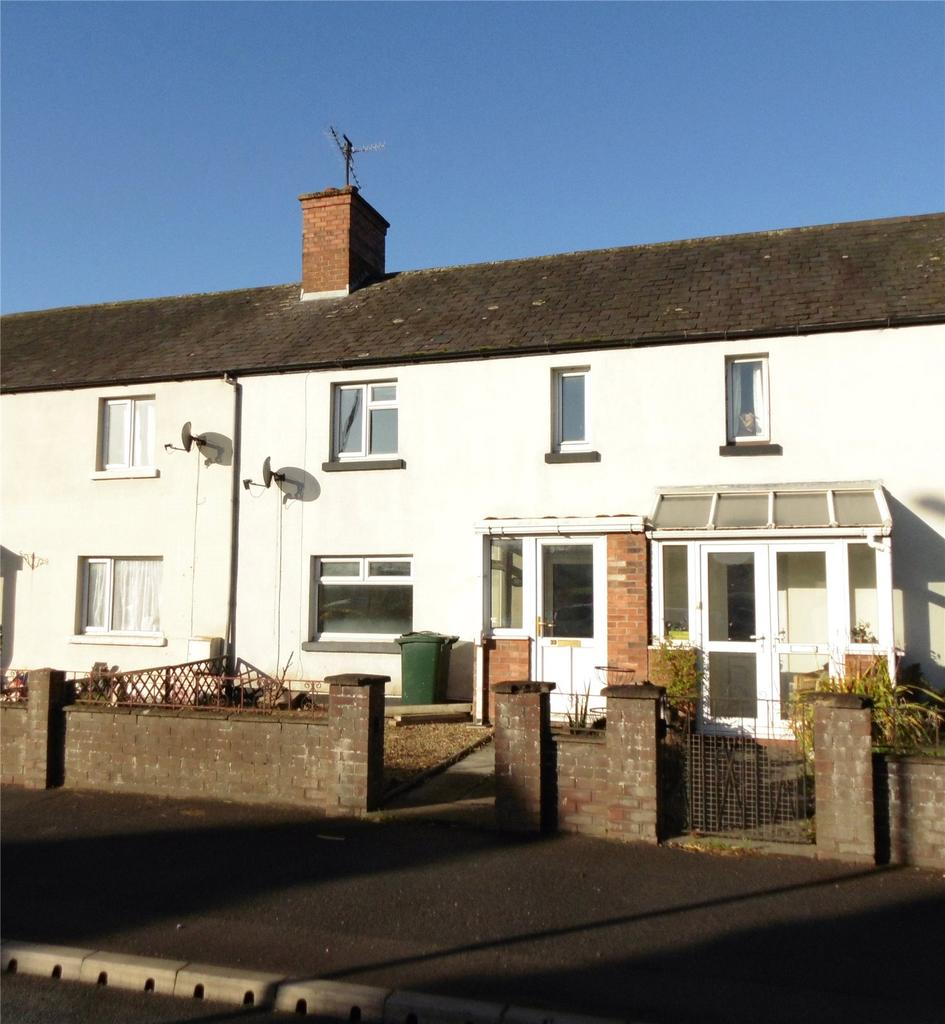 3 Bedrooms Terraced House for sale in Shrewsbury Road, Craven Arms, Shropshire