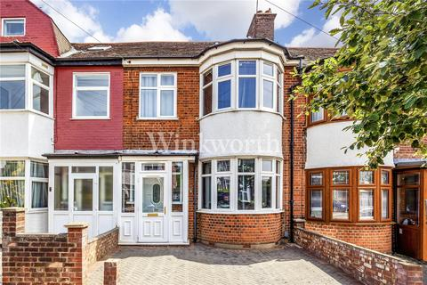 3 bedroom terraced house to rent - Stirling Road, London, N22