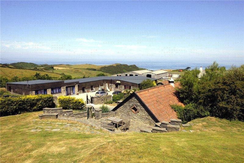 12 Bedrooms Farm House Character Property for sale in Lee, Woolacombe, Barnstaple, Devon, EX34