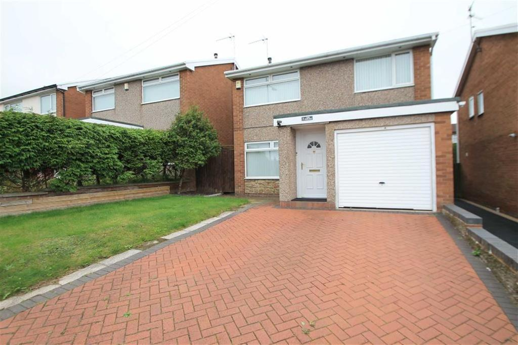 3 Bedrooms Detached House for sale in The Poplars, Rhosddu, Wrexham