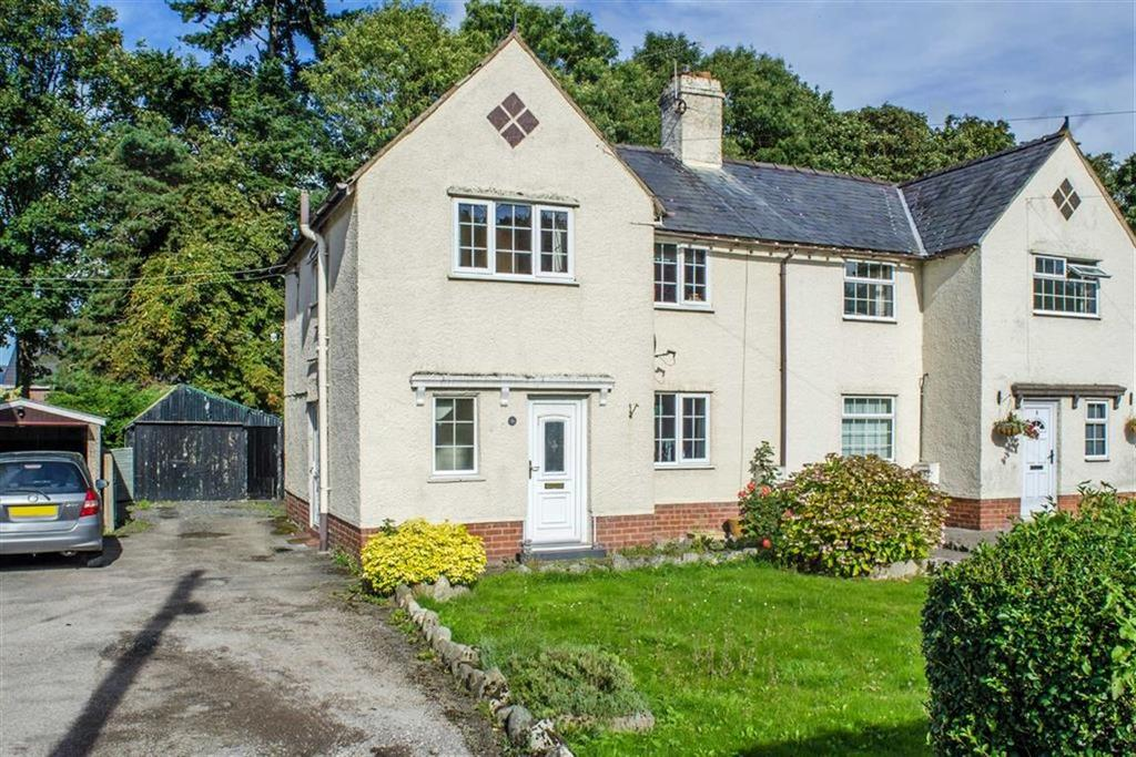 3 Bedrooms Semi Detached House for sale in Denbigh Road, Rhewl, Ruthin