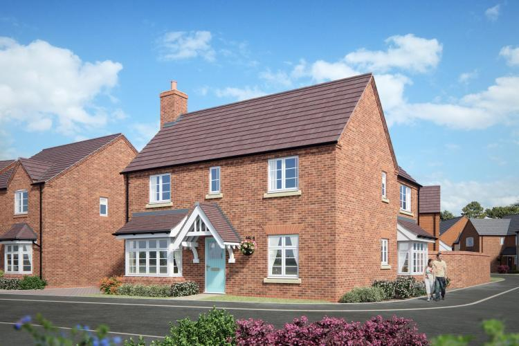 4 Bedrooms Detached House for sale in 17 Barnfields, Church Aston, Newport TF10 9JJ