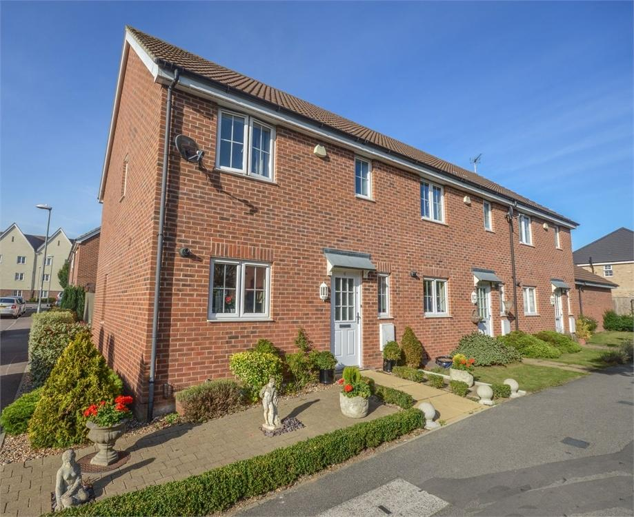 3 Bedrooms End Of Terrace House for sale in Honey Road, Little Canfield, DUNMOW, Essex