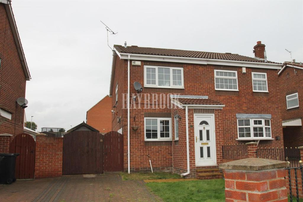 2 Bedrooms Semi Detached House for sale in Boundary Green, Rawmarsh