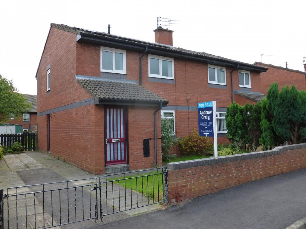 3 Bedrooms Semi Detached House for sale in Calf Close Walk, Jarrow