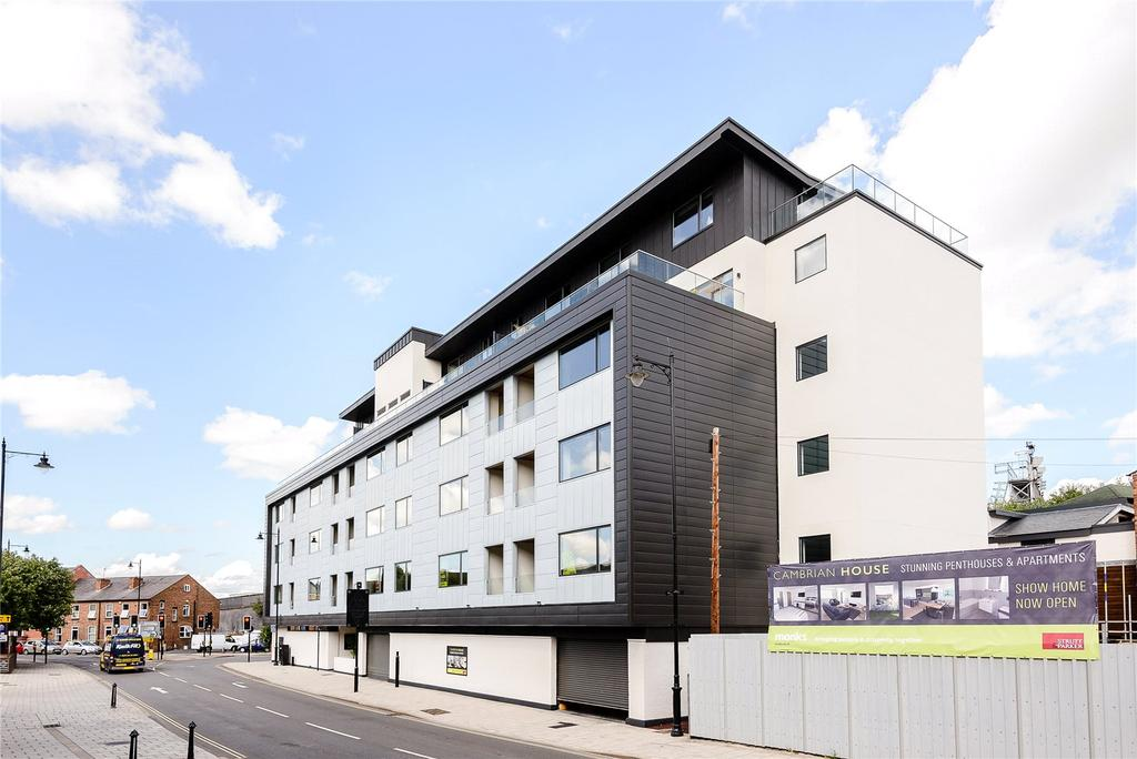 2 Bedrooms Flat for sale in Cambrian House, Chester Street, Shrewsbury