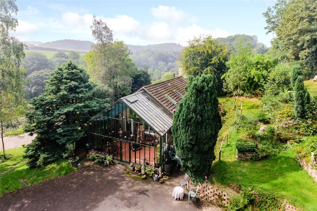 4 Bedrooms Detached Bungalow for sale in Horderley, Craven Arms, Shropshire