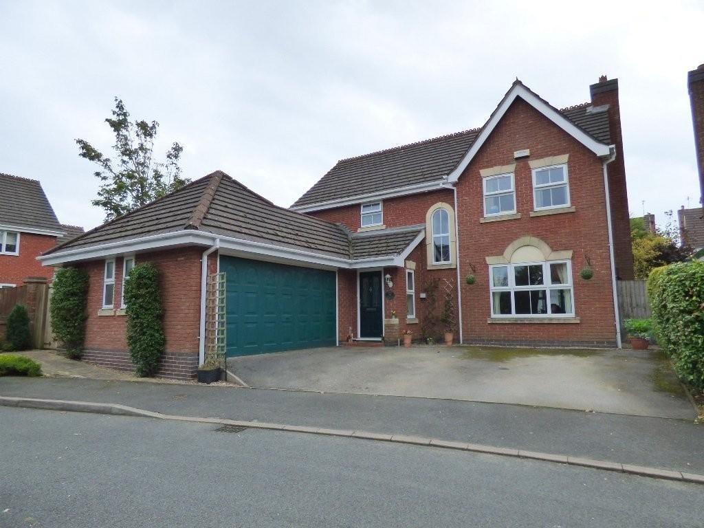 4 Bedrooms Detached House for sale in Forshaw Close, Ashbourne