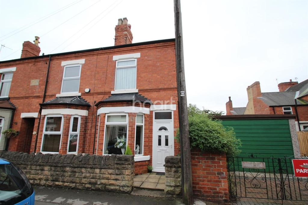 2 Bedrooms End Of Terrace House for sale in Co-Operative Avenue, Hucknall