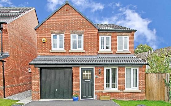 4 Bedrooms Detached House for sale in Gower Way Rotherham South Yorkshire