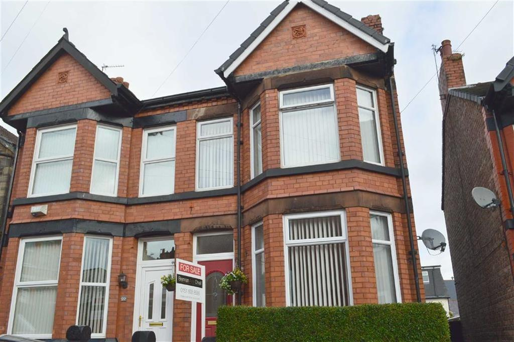 3 Bedrooms Semi Detached House for sale in Derwent Road, Oxton, CH43