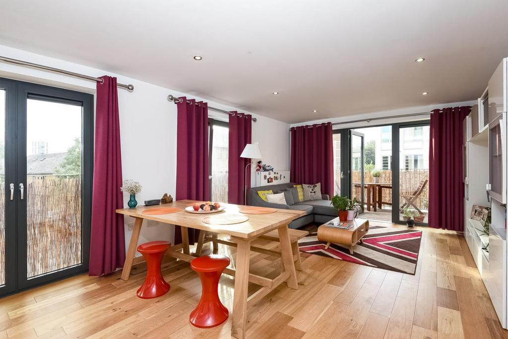 2 Bedrooms Flat for sale in Patmos Road, Oval, SW9