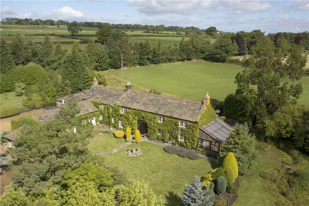 4 Bedrooms Detached House for sale in Snell House Farm, Beckwithshaw, Near Harrogate, North Yorkshire, HG3