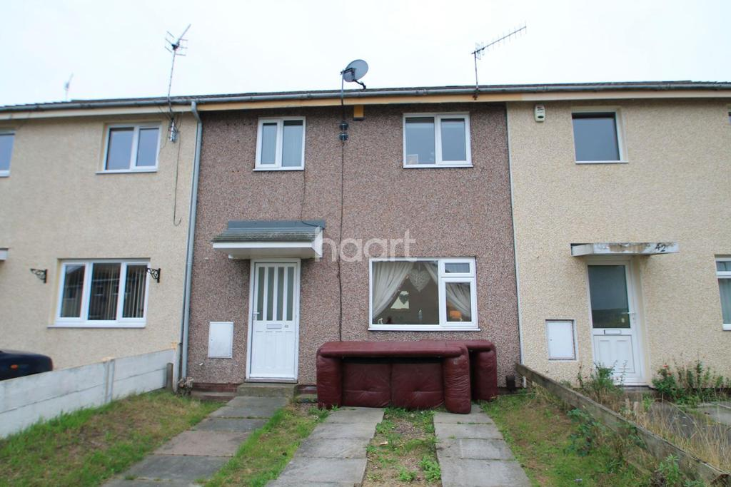 3 Bedrooms Terraced House for sale in Whitcombe Gardens, Top Valley, Nottingham