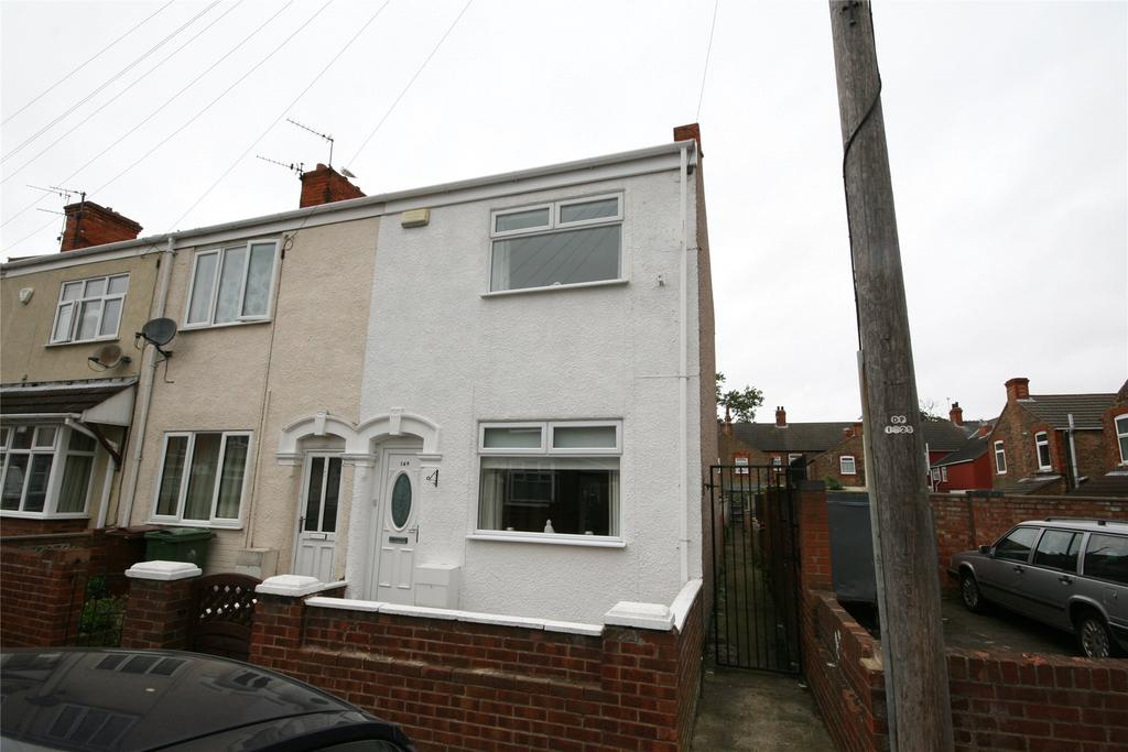 2 Bedrooms End Of Terrace House for sale in Cooper Road, Grimsby, DN32