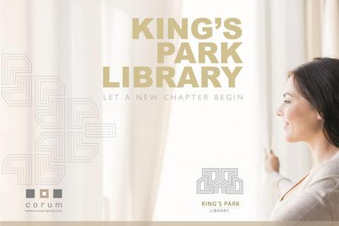 2 bedroom flat for sale - Flat 1, Kings Park Library, 275 Castlemilk Road, Kings Park, G44 4LE