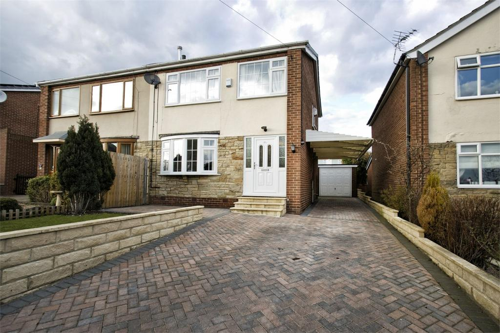 3 Bedrooms Semi Detached House for sale in Lee Green, Mirfield, West Yorkshire, WF14
