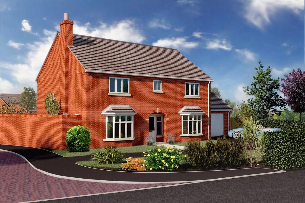 4 Bedrooms Detached House for sale in Plot 1, Waterside Meadow, Whitchurch