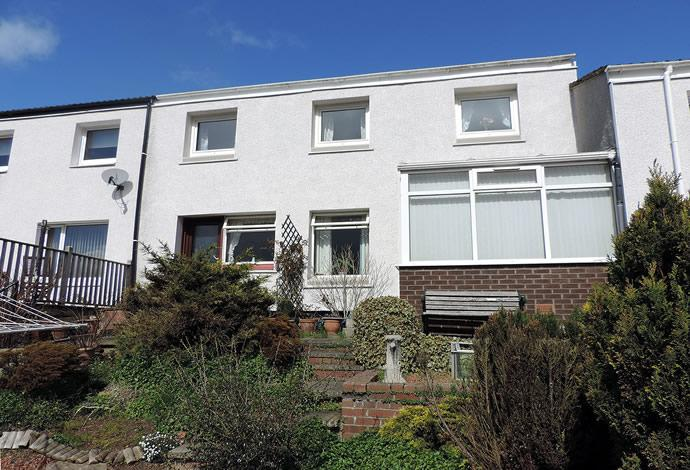 3 Bedrooms Terraced House for sale in 9 Aster Court, Galashiels, TD1 2LN