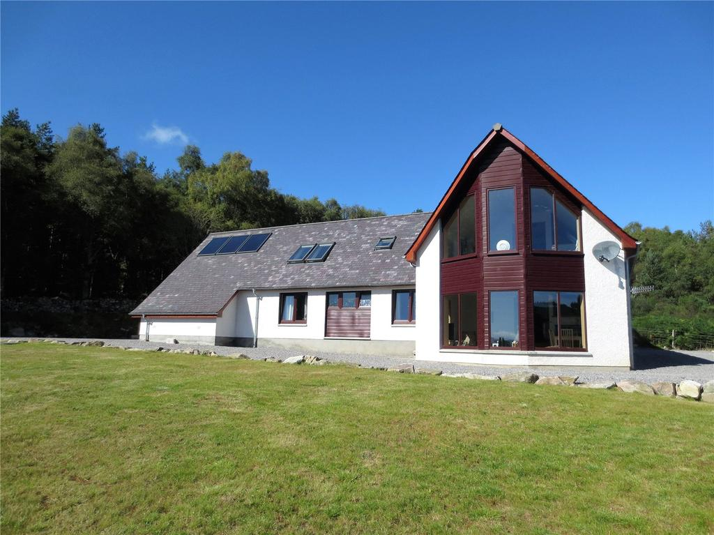 4 Bedrooms Detached House for sale in Monachan, Culrain, Ardgay, Highland, IV24