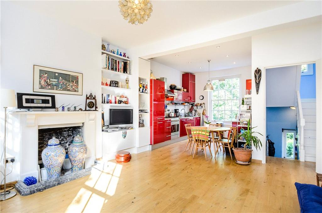 3 Bedrooms Maisonette Flat for sale in Richmond Avenue, Islington, London, N1