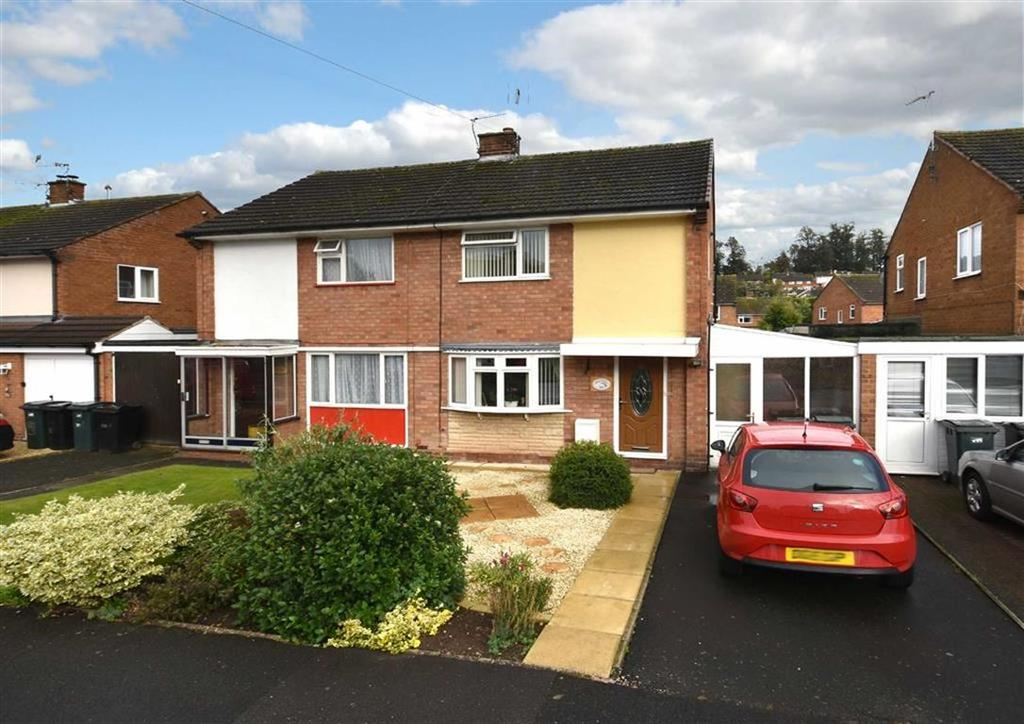 3 Bedrooms Semi Detached House for sale in 28, Well Meadow, Low Town, Bridgnorth, Shropshire, WV15