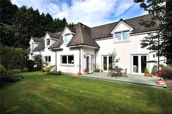 5 Bedrooms Detached House for sale in Pinebank, St. Leonards Road, Forres, Moray, IV36