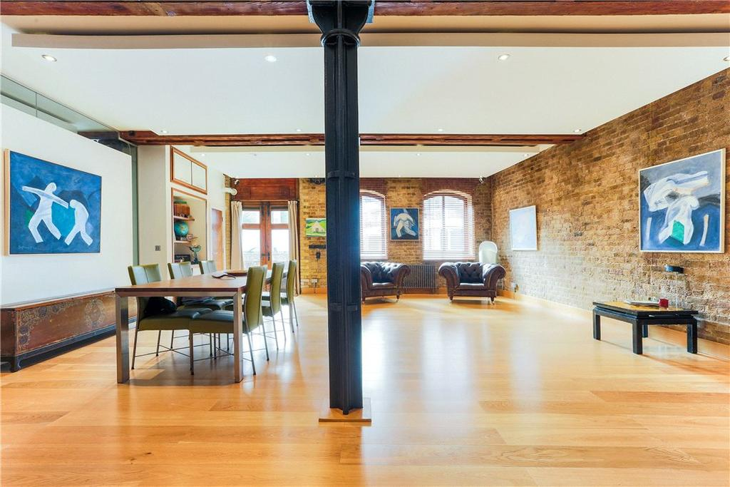 3 Bedrooms Flat for sale in Limehouse Wharf, 148 Narrow Street, Limehouse, London, E14
