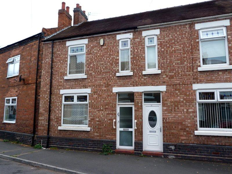 3 Bedrooms Terraced House for sale in Hall O'Shaw Street, Crewe, Cheshire, CW1