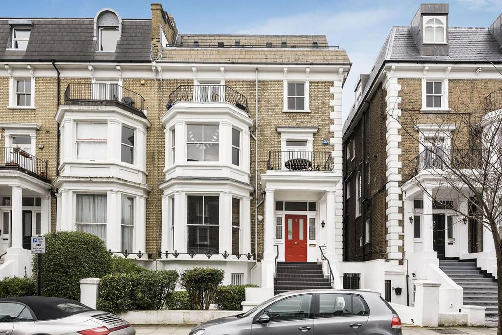 3 Bedrooms Flat for sale in Adamson Road, Belsize Park